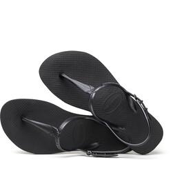 havaianas Twist Chaussures Femme, black